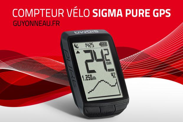Compteur vélo Sigma Sport Pure GPS