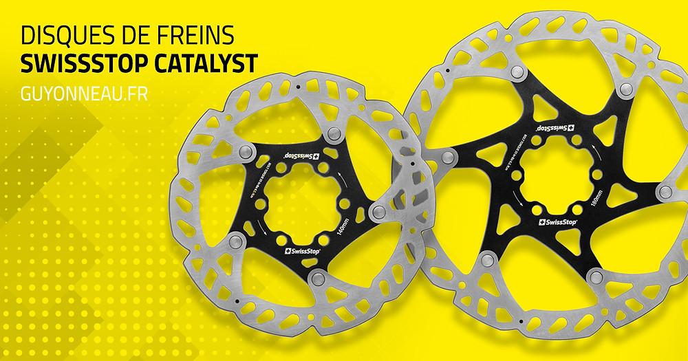 Disques de freins Catalyst SwissStop