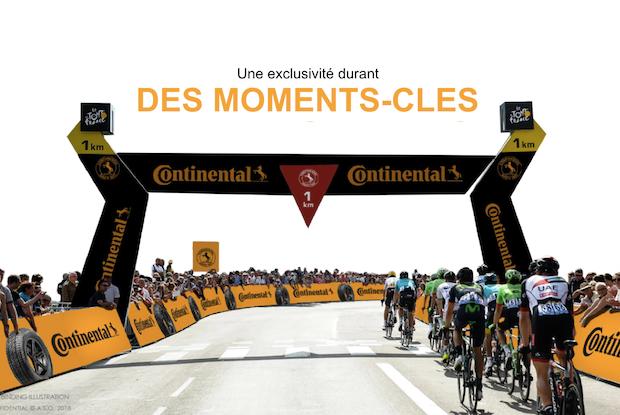 Continental partenaire majeur du Tour jusqu'en 2022