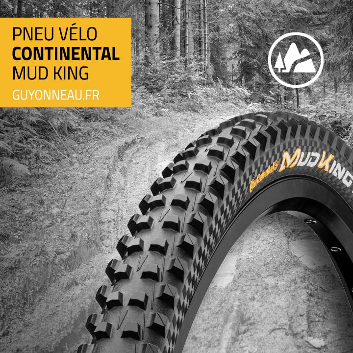 Pneu vtt Continental Mud King