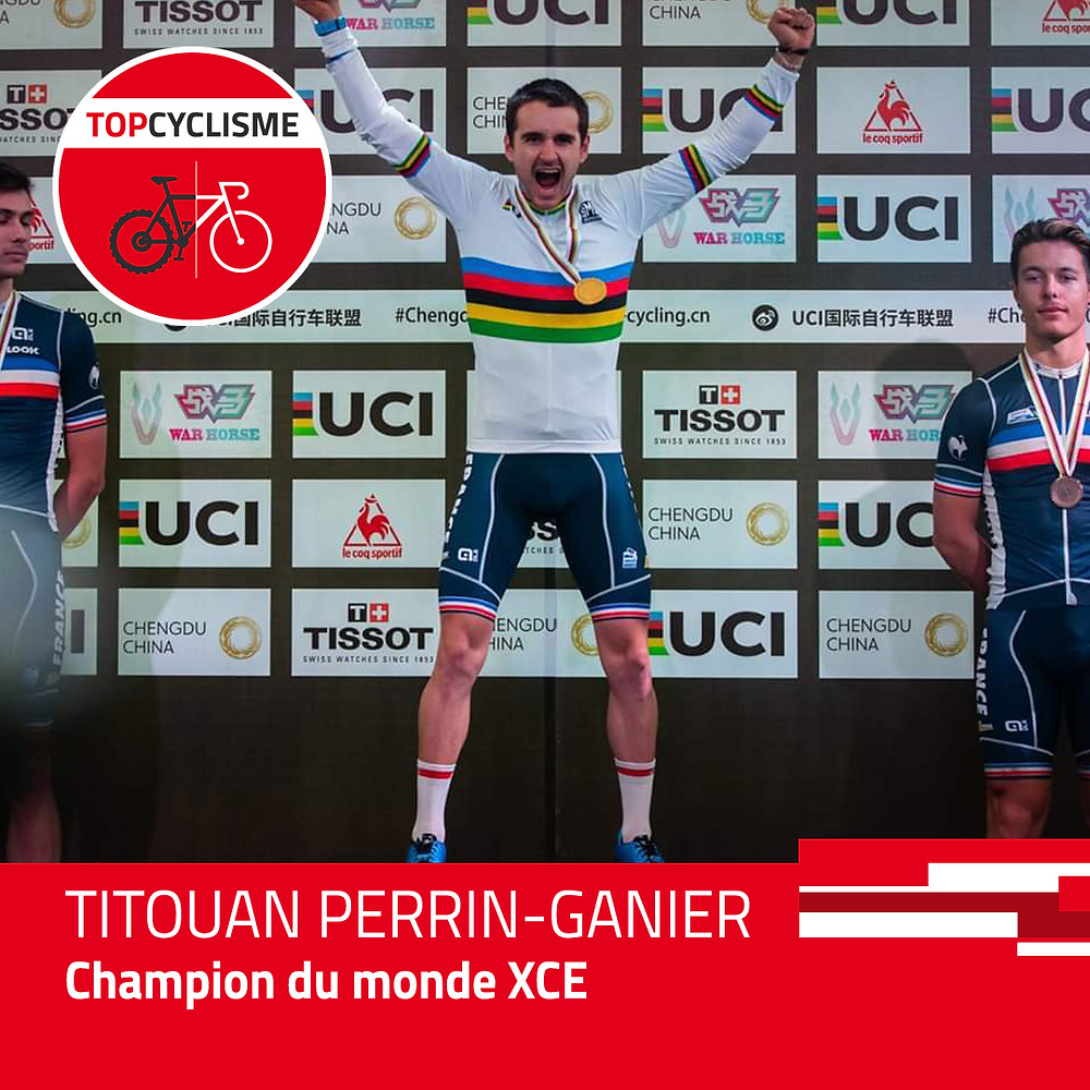 Deuxième titre mondial pour Titouan Perrin-Ganier