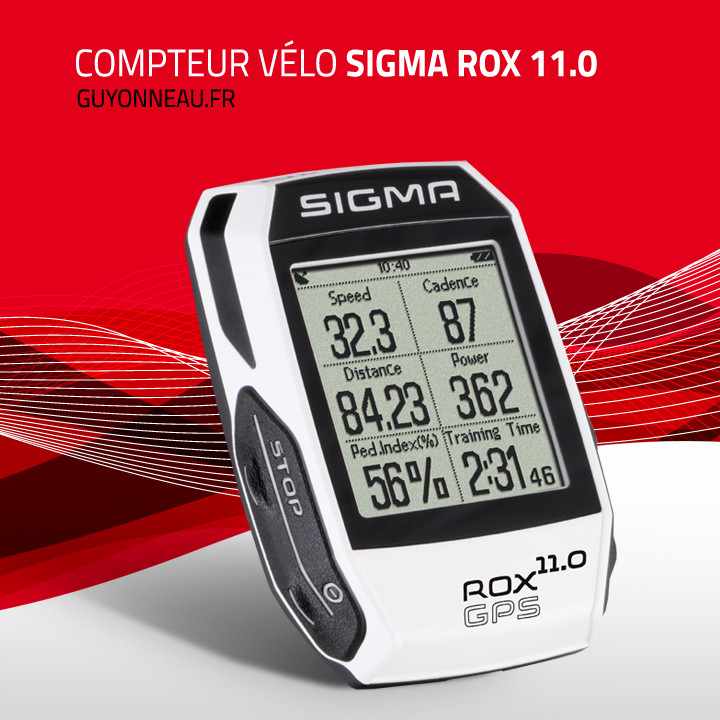 Compteur Sigma Rox 11.0