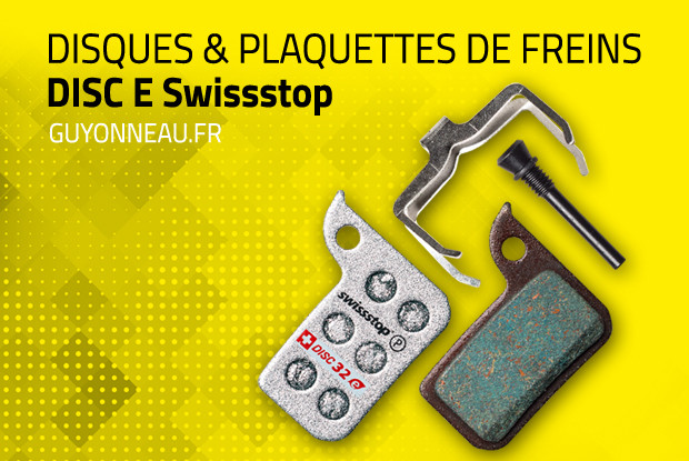 Disc E Swissstop, freinage fort et puissant