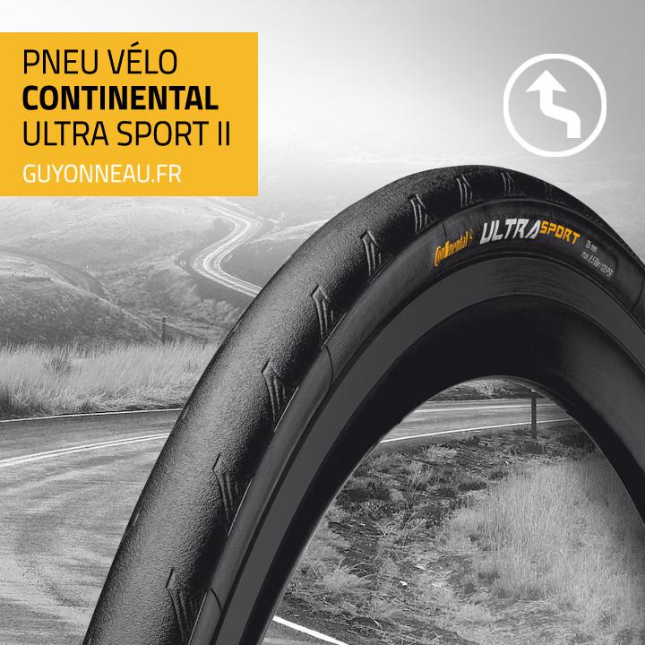 profil pneu Continental Ultra Sport II