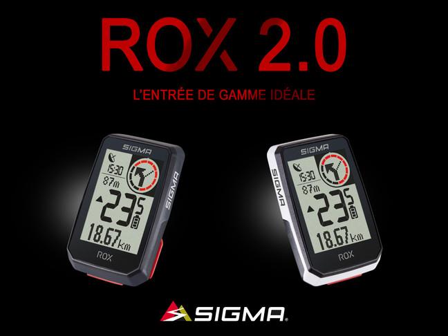 Nouveau SIGMA ROX 2.0: le compteur GPS d'entrée de gamme idéal