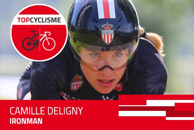 Camille Deligny, de la mode à l'Ironman.