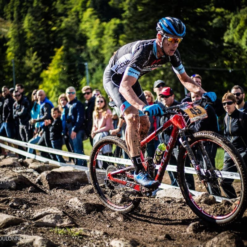 Hugo Briatta en action