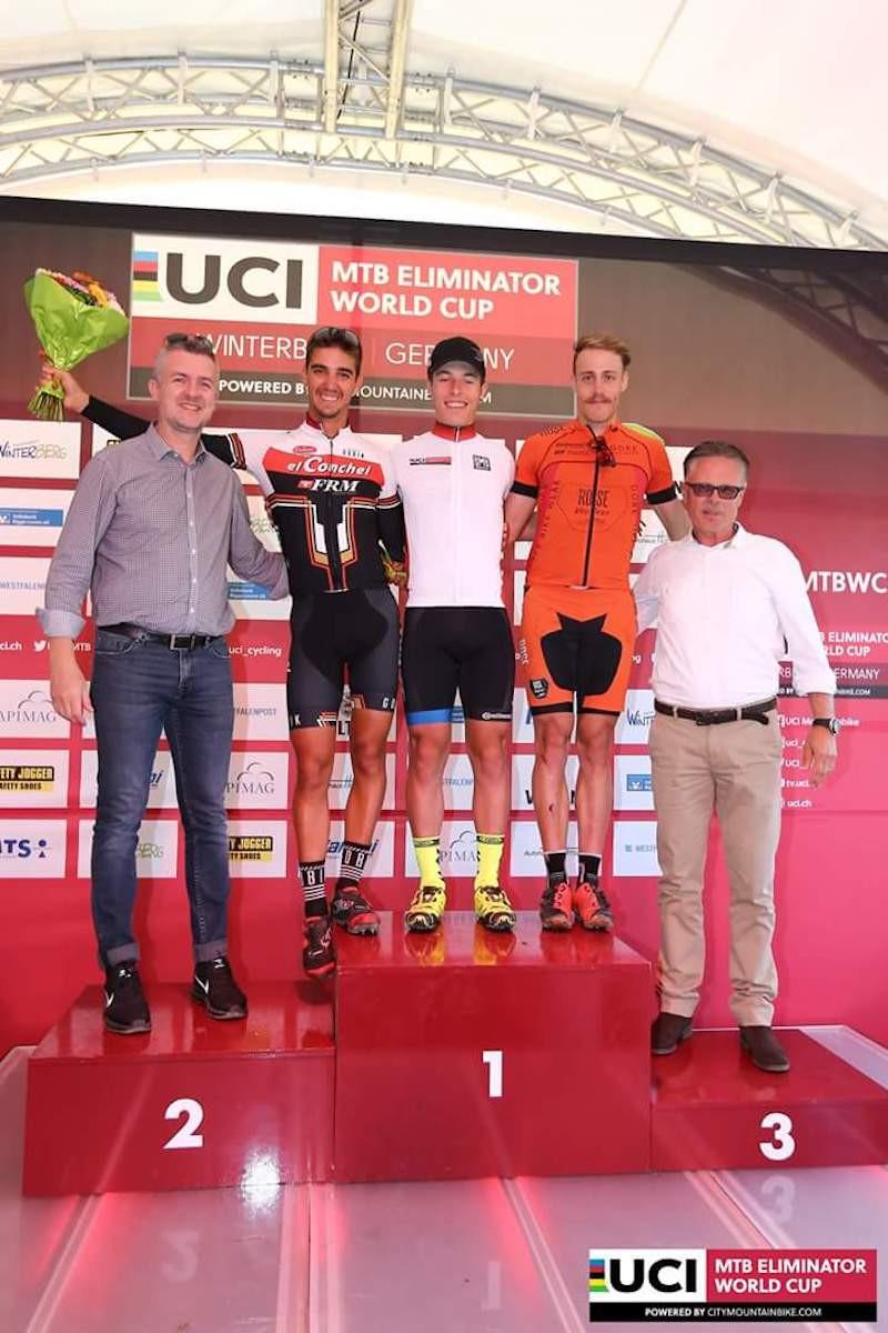Lorenzo Serres habitué des podiums en XCE