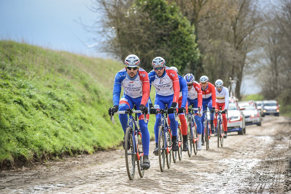 Groupama-FDJ: reconnaissance de Paris-Roubaix