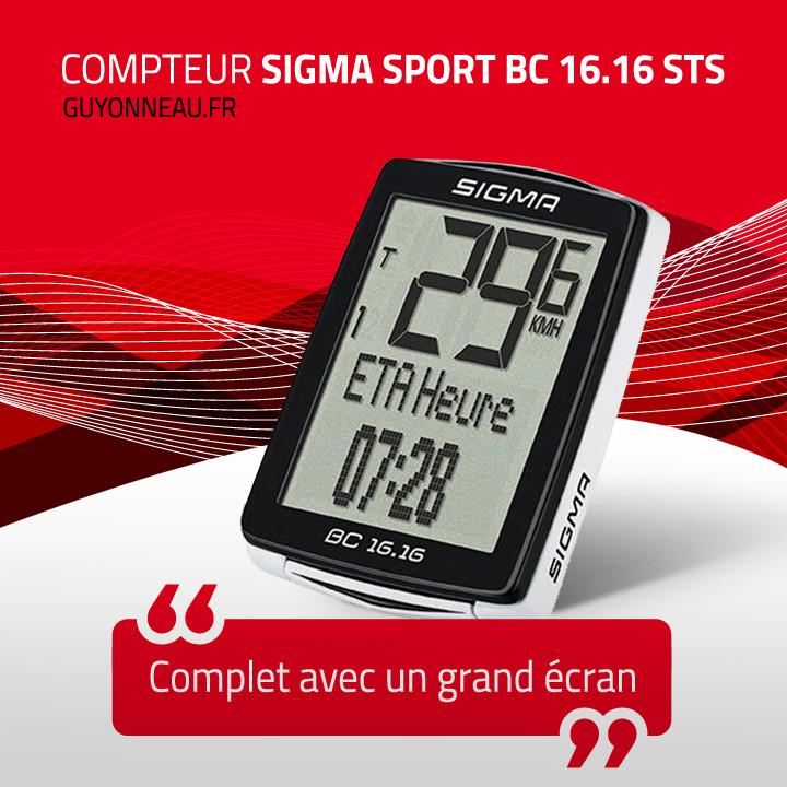 Compteur vélo Sigma Sport BC 16.16