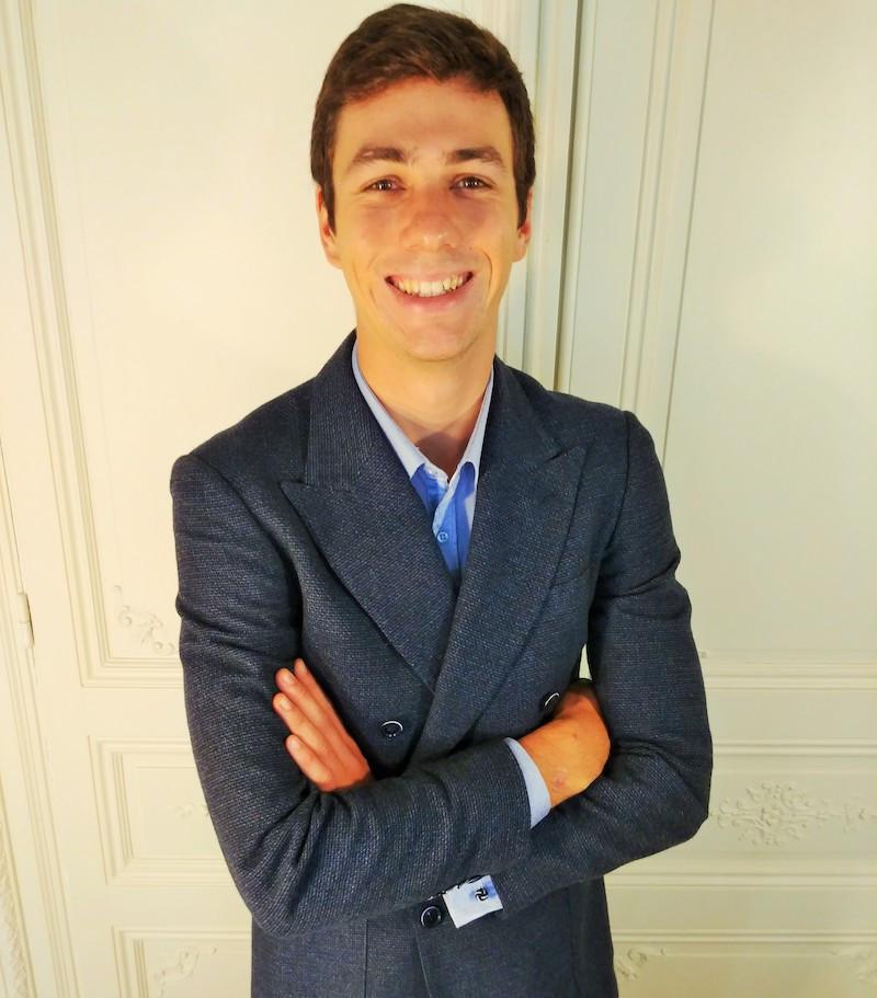 Hugo Briatta version école d'ingénieurs