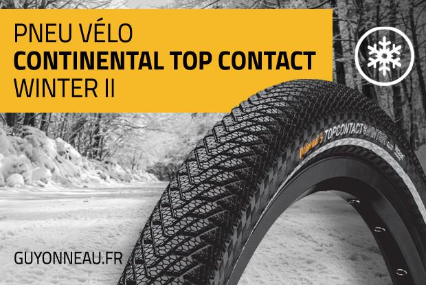 Continental Top CONTACT Winter II, pour la neige!
