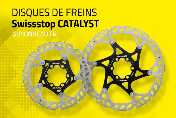 Catalyst, le disque de frein SwissStop