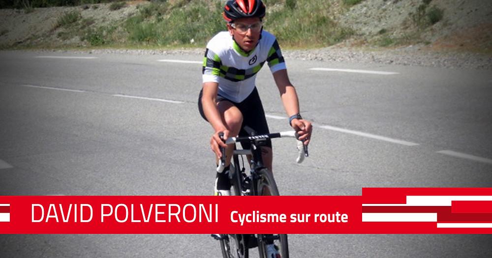 David Polveroni, double vainqueur de la Haute Route