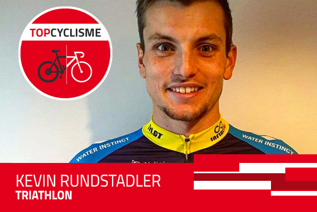Kévin Rundstadler, le triathlète qui monte
