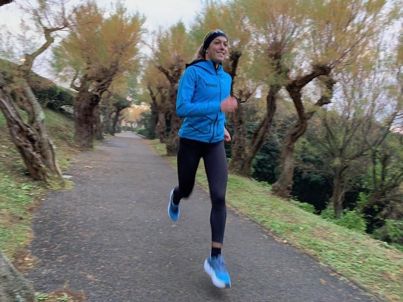 Charlotte Morel en course-à-pied