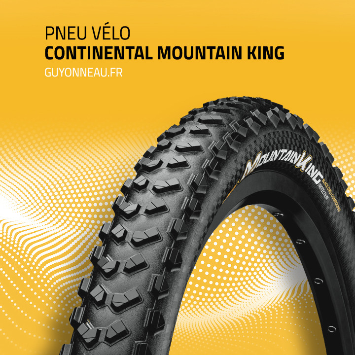 pneu vtt Continental Mountain King