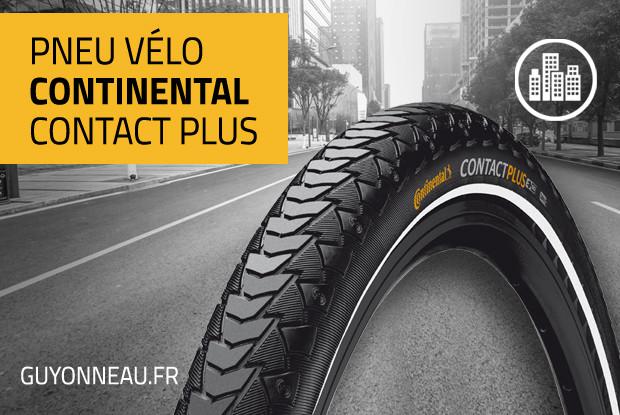 Continental Contact Plus, ultra-résistant