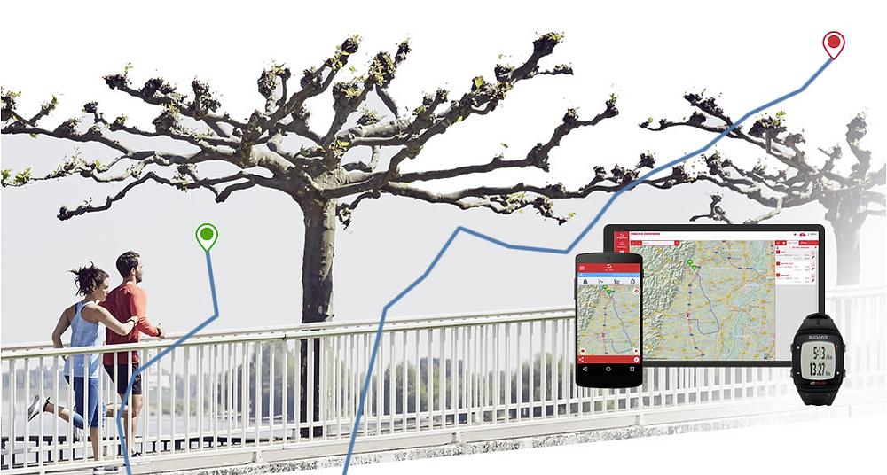 Téléchargez le tracé GPS de votre montre Sigma iD.RUN