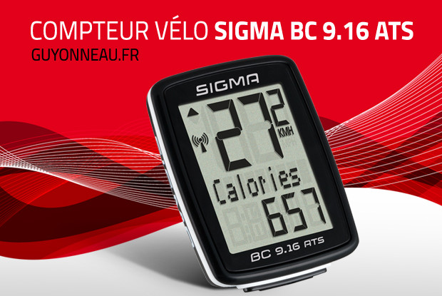 Sigma BC 9.16 ATS, simple mais complet.