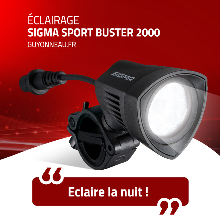 Eclairage Sigma Buster 2000