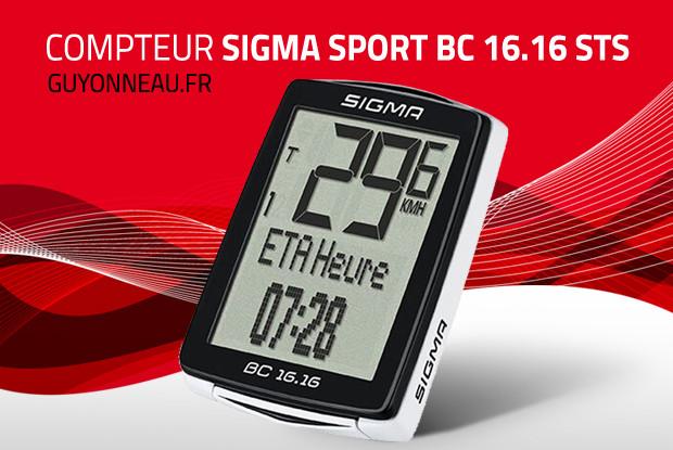 Compteur vélo Sigma BC 16.16 STS
