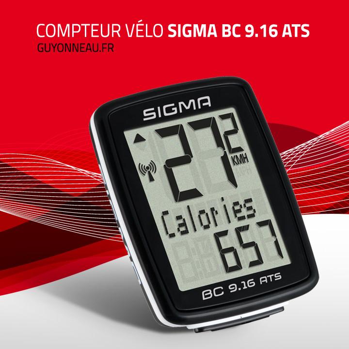 compteur Sigma Sport BC 9.16 ATS