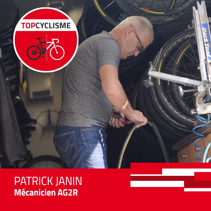 Patrick Janin, responsable mécaniciens AG2R