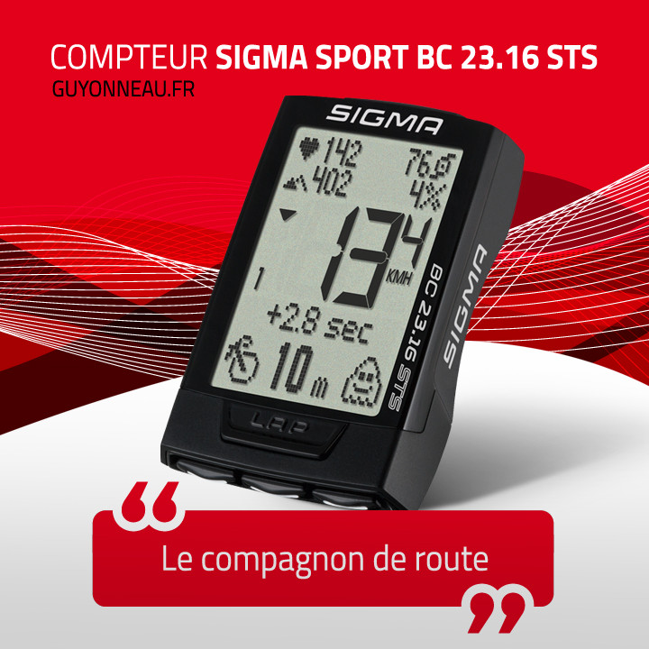 Compteur Sigma Sport BC 23.16 STS