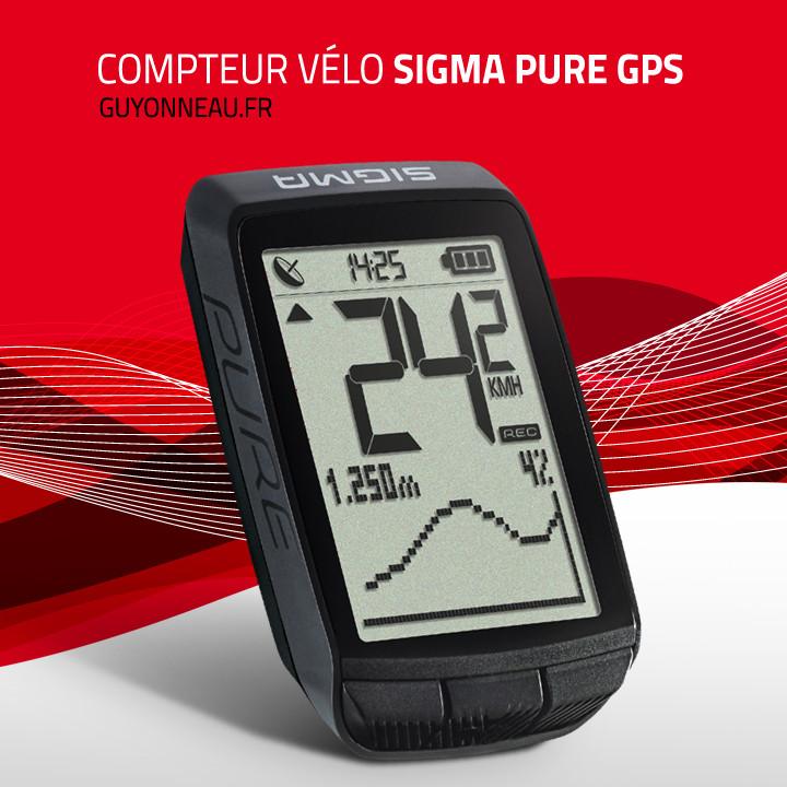 Compteur vélo Sigma  Sport PURE