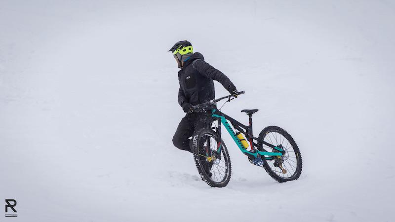 Fred sur les pistes de Val d'Isère