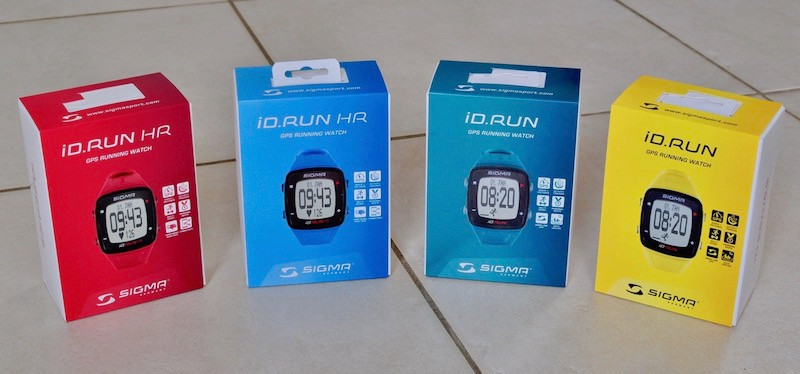 Montre ID RUN HR
