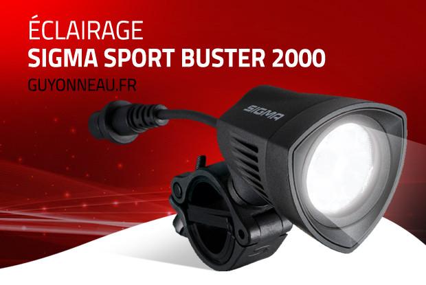 Eclaire la nuit avec Sigma Buster 2000 !