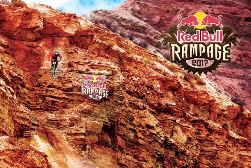 Les pentes impressionnantes de la Red Bull Rampage.
