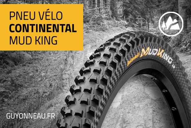 Le Continental Mud King adore la boue