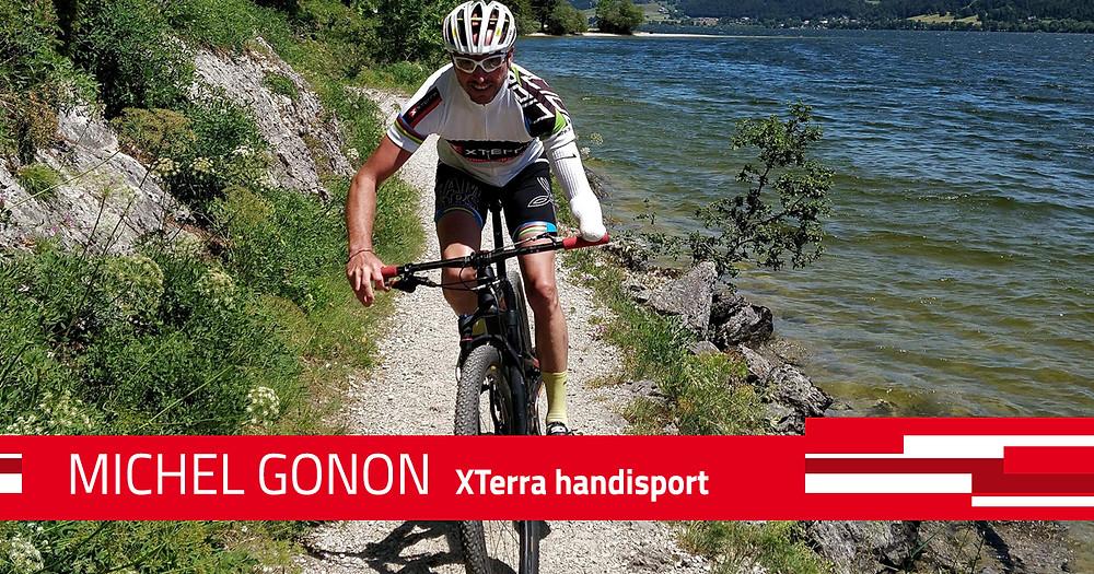 Michel Gonon, champion du monde Xterra 2017