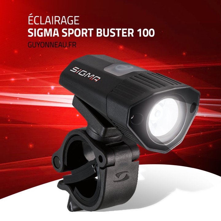 Eclairage Sigma Sport Buster 100