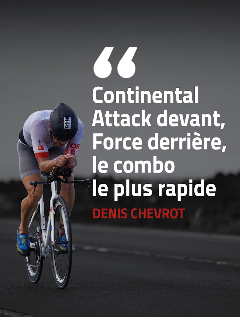 Denis Chevrot ambassadeur Continental.