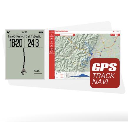 Fonction GPS Sigma Rox 11.0