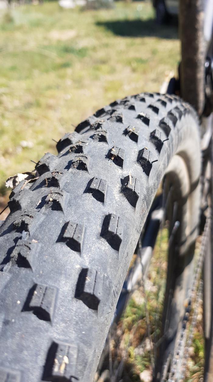 Les pneus Continental résistent bien à l'usure