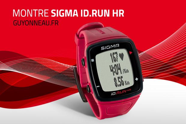 la montre iD.RUN HR couleur rouge