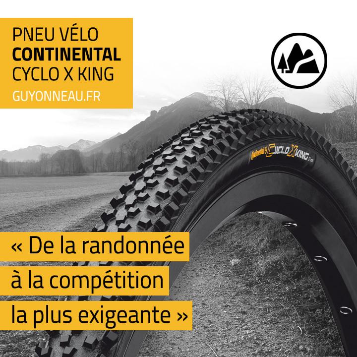 Pneu Continental Cyclo X King