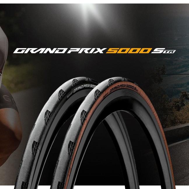 Le tout nouveau Grand Prix 5000 S TR: le pneu route polyvalent par excellence