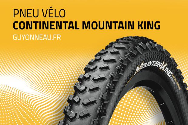 Pneu VTT Continental Mountain King