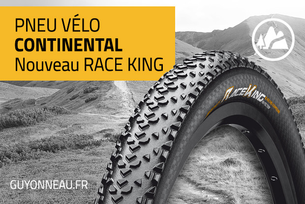 Nouveau Continental Race King, + de grip