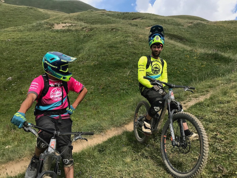 Les Bike Patrols veillent sur le Bike Park.