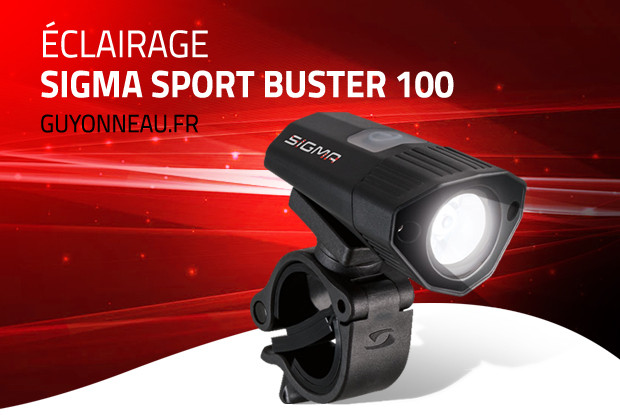 Sigma Buster 100: puissant, léger, costaud.