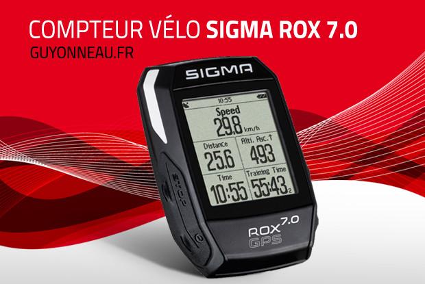 Le Sigma Rox 7.0 est simple et complet.