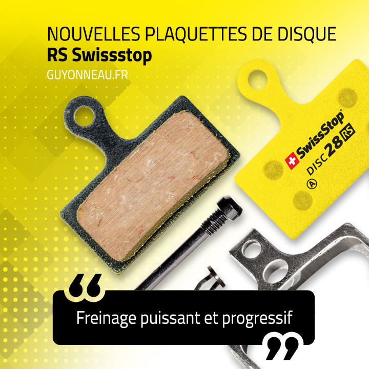 Plaquettes disque RS Swissstop