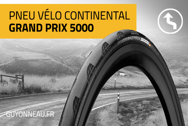 Avis pneus Continental GP 5000